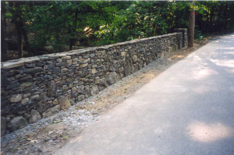 Stone Border Wall